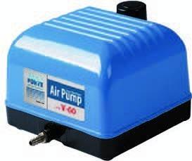 Aquaforte luftpumpe hi flow v serie friesland koi onlineshop for Vendita koi online